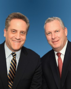 Alec Ornstein (Left), Mike Kelly (Right)