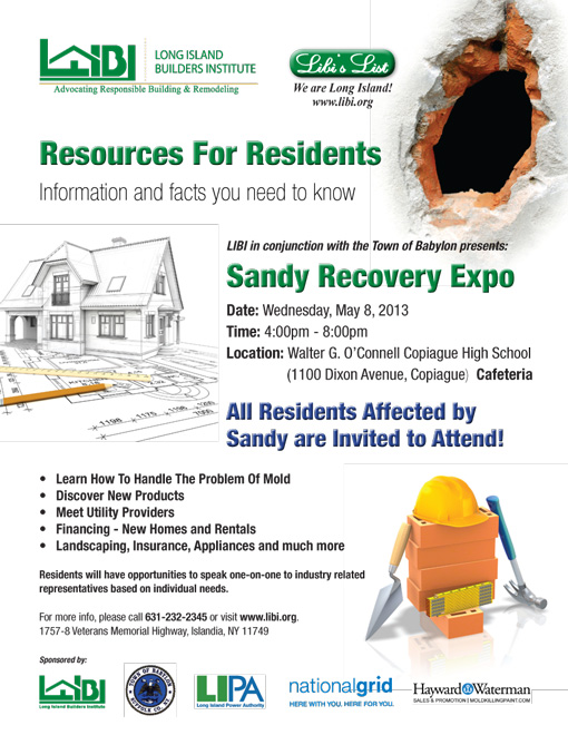 Flyer-LIBI-Sandy-Recovery-Expo